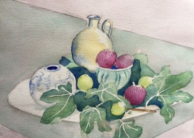 Watercolour Group work