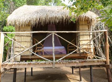 Eco Bungalows Island Koh Takiev Island Cambodia
