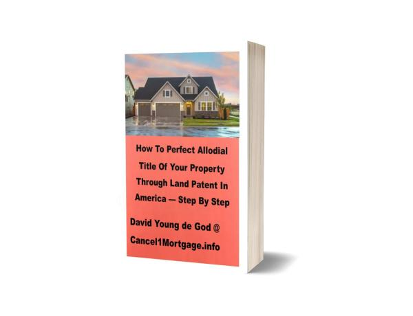 How to acquire allodial title with land patent e booklet