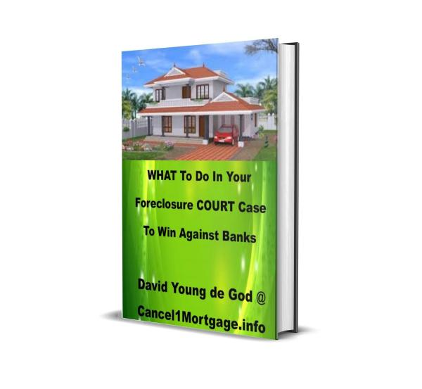 What to do in your foreclosure court case to win against banks ebook
