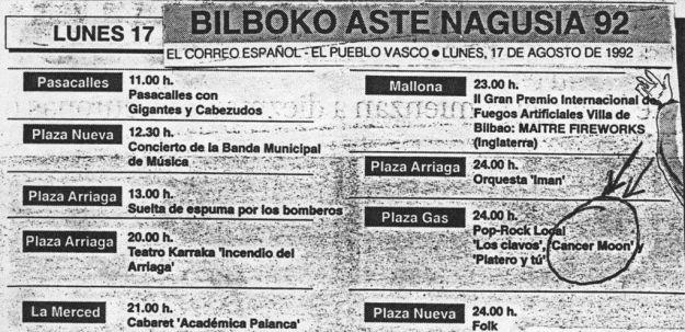 Programa Aste Nagusia 1992