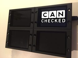 CANchecked Display - Aluminium Gehäuse