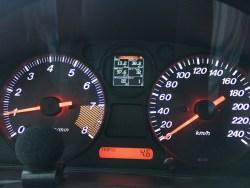 Mazda MX5 NA display