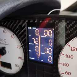 MFA28 Audi 80 tacho display umbau S2 RS2 B3 B4