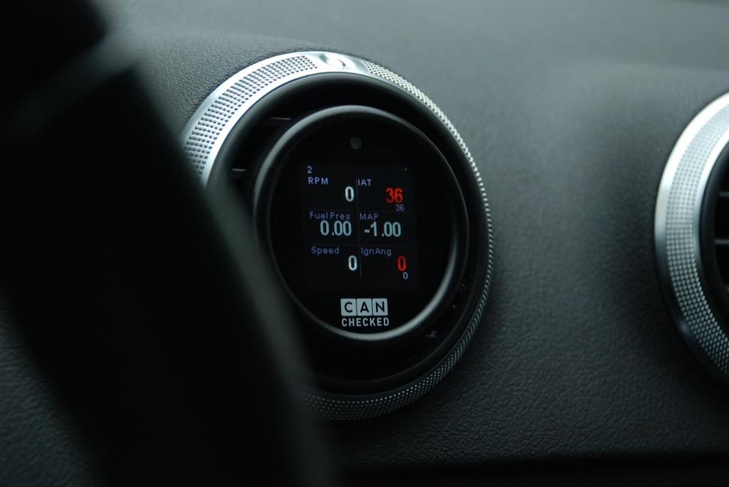 audi a3 8p tt 8j display gauge 52mm