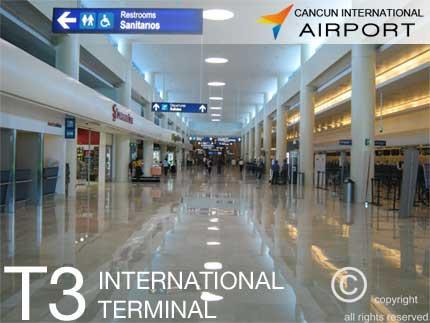 Cancun Airport Terminal 3 Information