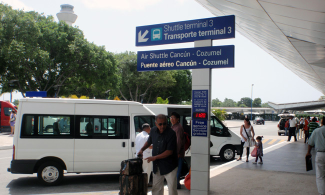 Cancun Airport Hotel Shuttle