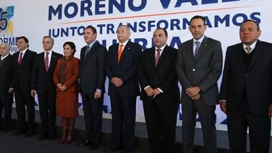 Photo of Borge asiste al informe de gobierno de Rafael Moreno Valle