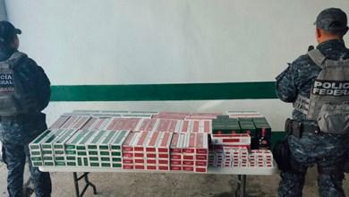 Photo of Más de 36 mil cigarrillos en lista de alerta sanitaria son asegurados en Q Roo