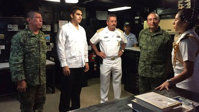 "Photo of Cozumel recibe al buque ""Papaloapan"""