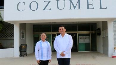 Photo of Fredy Marrufo se reúne con la presidenta electa de Cozumel