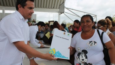 Photo of De septiembre a diciembre familias quintanarroenses podrán titular sus lotes de manera gratuita