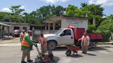 Photo of Realizan mantenimiento del Malecón Rafael E. Melgar de Cozumel
