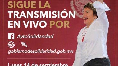 Photo of Todo listo para el 2do Informe de Gobierno de @LauraBeristain