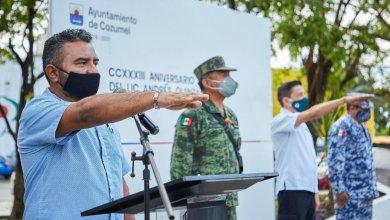 Photo of Conmemoran el 233 aniversario del natalicio de Andrés Q. Roo en Cozumel