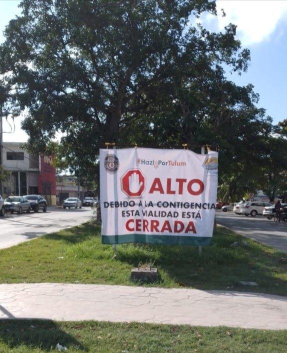 La imagen tiene un atributo ALT vacío; su nombre de archivo es Cierre-de-calles-Tulum-5.jpeg