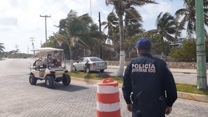 Instalan filtros sanitarios para evitar contagios en Isla Mujeres | Cancun  Mio