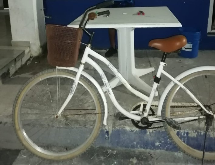 bicicleta robada en tulum