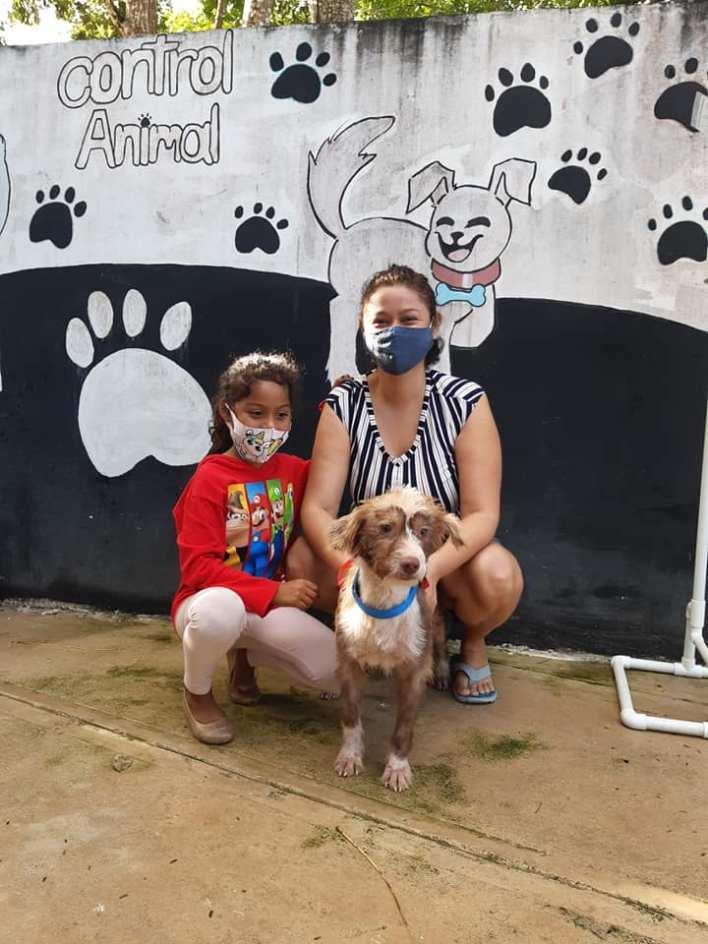 familia y mascota