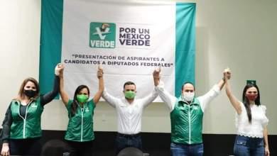 Photo of @juancarrillo58 y @LauFdzOficial candidatos del Partido Verde para Diputados federales