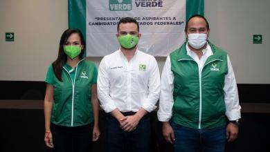 Photo of Pablo Bustamante presenta a aspirantes a diputados federales por el PVEM