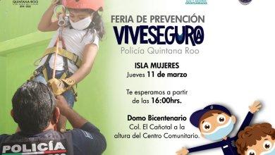 Photo of Policía de Q. Roo realizará la feria de prevención «vive seguro» en Isla Mujeres
