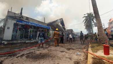 Photo of Mantienen precauciones en zona donde sucedió incendio en Isla Mujeres