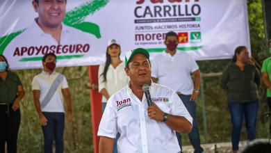 Photo of Mejores calles e iluminadas propone Juan Carrillo en Rancho Viejo