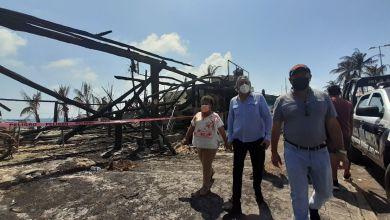 Photo of Realizan recuento de daños tras incendio de comercios en Isla Mujeres