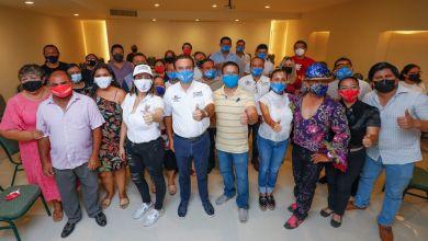 Photo of Carnavaleros respaldan propuestas de @PedroJoaquinD en Cozumel