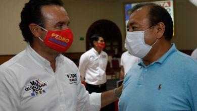 Photo of @PedroJoaquinD pide unión a militancia priista durante elecciones en Cozumel
