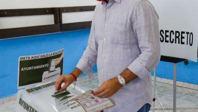 Photo of Acude @PedroJoaquinD a ejercer su voto