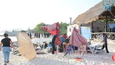 Photo of Retiran camastros de Playa Tortugas, en Cancún; empresarios respaldan