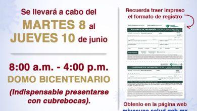 Photo of Inicia en Isla Mujeres aplicación de vacuna Covid a personas de 40 años
