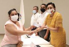 Photo of Entregan segundo pago de becas municipales en Puerto Morelos