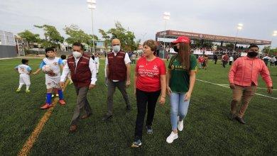 """Photo of Se rehabilita la unidad deportiva """"Luis Donaldo Colosio"""" en Solidaridad"""