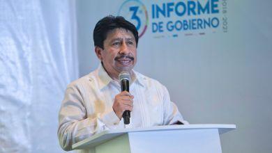 Photo of Víctor Mas presenta su tercer informe de gobierno en Tulum
