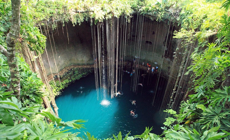 Image result for chichen itza cenote