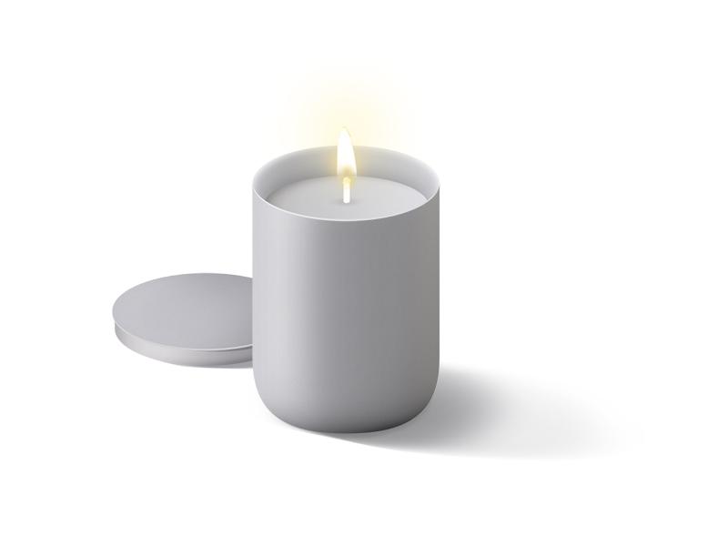 1 candle mockups mockupsxyz