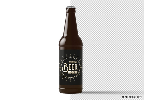 beer bottle mockup buy this stock template and explore similar