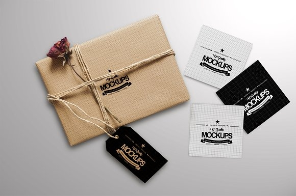 box and square business card mockup mockup store