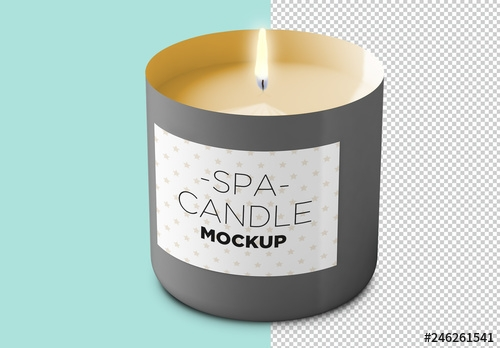 candle label mockup buy this stock template and explore similar