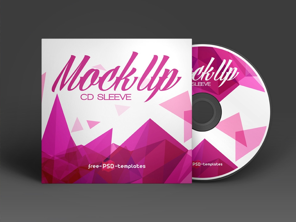 cd sleeve mockup free psd mockup love
