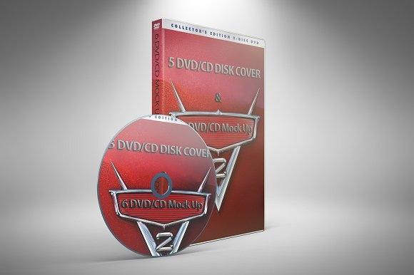 dvd cd mockup mockup store