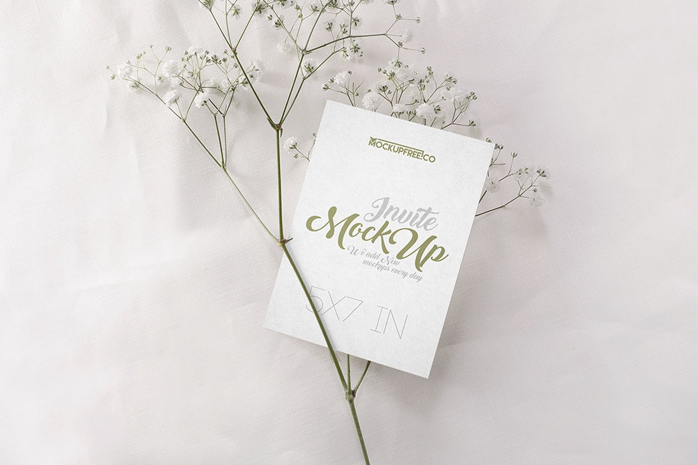 free download set of wedding invitation psd mockups designhooks