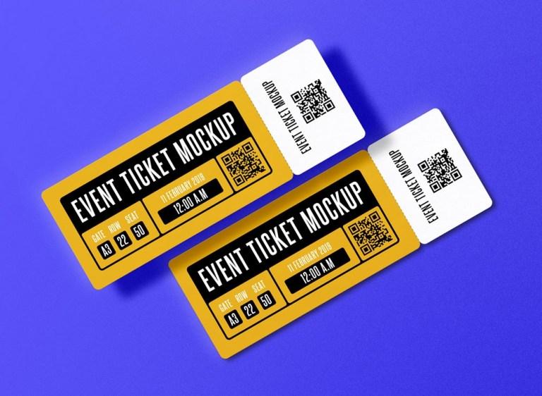 free event ticket mockup free mockups the best free psd mockups
