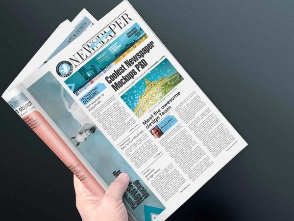 Download Newspaper Template And Mockup Yellowimages