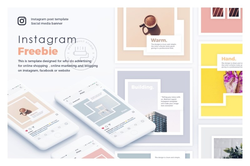 free social media templates and mockups for photoshop filtergrade