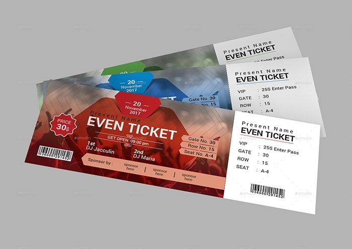free ticket mockups ticket template mockup event ticket