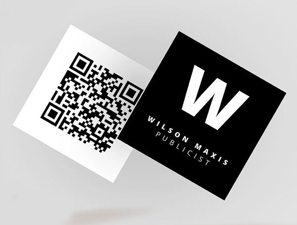 mini square business card psd templates design graphic design
